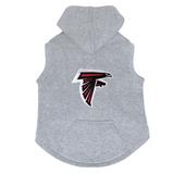Atlanta Falcons Dog Pet Premium Button Up Embroidered Hoodie Sweatshirt