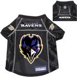 Baltimore Ravens Dog Pet Premium Alternate Mesh Football Jersey Black