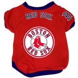 Boston Red Sox Dog Pet Baseball Jersey Alternate