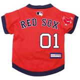 Boston Red Sox Dog Pet Premium Baseball Jersey