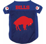 Buffalo Bills Dog Pet Mesh Football Jersey Throwback