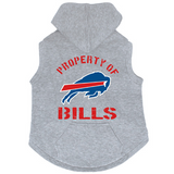 Buffalo Bills Dog Pet Premium Button Up Property Of Hoodie Sweatshirt