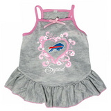 Buffalo Bills Dog Pet Pink Too Cute Squad Jersey Tee Dress