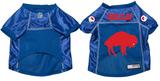 Buffalo Bills Dog Pet Premium Mesh Football Jersey Throwback