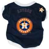 Houston Astros Dog Pet Baseball Jersey Alternate