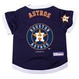 Houston Astros Dog Pet Premium Baseball Jersey Alternate