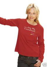 St. Louis Cardinals Love My Women's Long Sleeve Shirt
