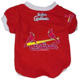 St. Louis Cardinals Dog Pet Baseball Jersey Alternate