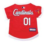 St. Louis Cardinals Dog Pet Premium Baseball Jersey