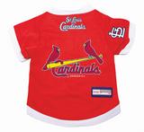 St. Louis Cardinals Dog Pet Premium Baseball Jersey Alternate