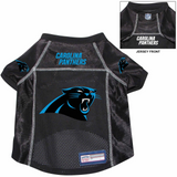 Carolina Panthers Dog Pet Premium Alternate Mesh Football Jersey