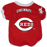 Cincinnati Reds Dog Pet Baseball Jersey Alternate