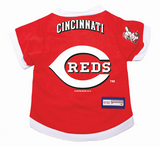Cincinnati Reds Dog Pet Premium Baseball Jersey Alternate