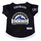 Colorado Rockies Dog Pet Premium Baseball Jersey Alternate