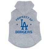Los Angeles Dodgers Dog Pet Premium Button Up Property Of Hoodie Sweatshirt