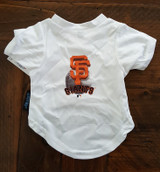 San Francisco Giants Dog Pet Performance Tee T-Shirt