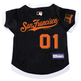 San Francisco Giants Dog Pet Premium Baseball Jersey