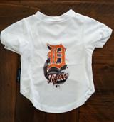 Detroit Tigers Dog Pet Performance Tee T-Shirt