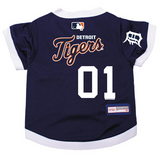 Detroit Tigers Dog Pet Premium Baseball Jersey