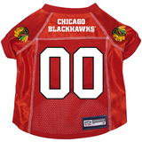 Chicago Blackhawks Dog Pet Premium Alternate Mesh Hockey Jersey