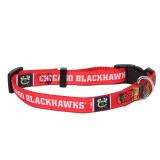 Chicago Blackhawks Dog Pet Premium Adjustable Nylon Collar