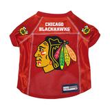 Chicago Blackhawks Dog Pet Premium Mesh Hockey Jersey