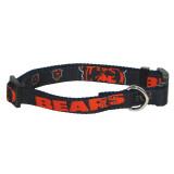 Chicago Bears Dog Pet Premium Adjustable Nylon Collar
