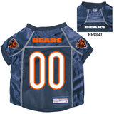 Chicago Bears Dog Pet Premium Mesh Football Jersey