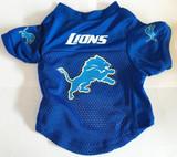 Detroit Lions Dog Pet Mesh Alternate Football Jersey