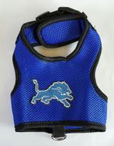 Detroit Lions Dog Pet Premium Mesh Vest Harness