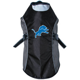 Detroit Lions Dog Pet Premium Reflective Jacket