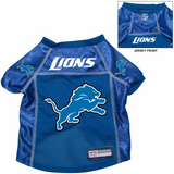 Detroit Lions Dog Pet Premium Alternate Mesh Football Jersey