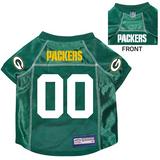 Green Bay Packers Dog Pet Premium Mesh Football Jersey