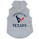 Houston Texans Dog Pet Premium Button Up Property Of Hoodie Sweatshirt