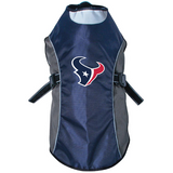 Houston Texans Dog Pet Premium Reflective Jacket