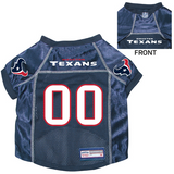 Houston Texans Dog Pet Premium Mesh Football Jersey
