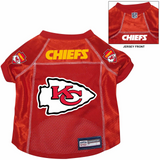 Kansas City Chiefs Dog Pet Premium Alternate Mesh Football Jersey