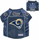 St. Louis Rams Dog Pet Premium Alternate Mesh Football Jersey