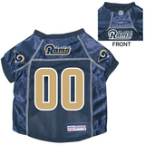 St. Louis Rams Dog Pet Premium Mesh Football Jersey