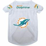Miami Dolphins Dog Pet Mesh Alternate Football Jersey