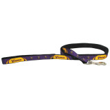 Minnesota Vikings Dog Pet Premium 6ft Nylon Lead Leash
