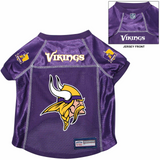 Minnesota Vikings Dog Pet Premium Alternate Mesh Football Jersey