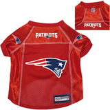New England Patriots Dog Pet Premium Alternate Mesh Football Jersey Red