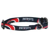 New England Patriots Dog Pet Premium Adjustable Nylon Collar