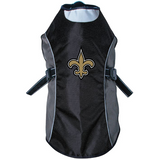 New Orleans Saints Dog Pet Premium Reflective Jacket