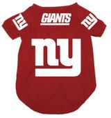 New York Giants Dog Pet Mesh Alternate Football Jersey Red