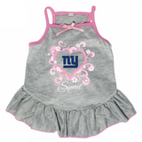 New York Giants Dog Pet Pink Too Cute Squad Jersey Tee Dress