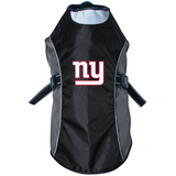 New York Giants Dog Pet Premium Reflective Jacket