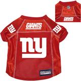 New York Giants Dog Pet Premium Alternate Mesh Football Jersey Red