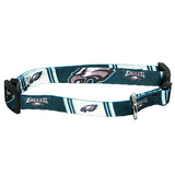Philadelphia Eagles Dog Pet Adjustable Nylon Collar